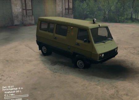 Скачать мод грузовик УАЗ-3972 для Spintires 2014