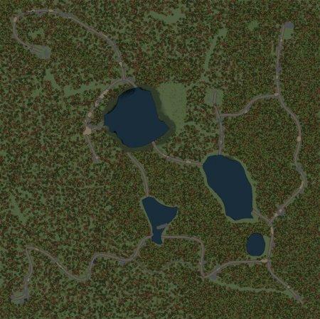 Скачать мод карта HARD MAP V2 для Spintires 03.03.16