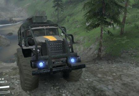 Скачать мод грузовик Урал-6614 «Добрыня 2» для Spintires v. 03.03.16