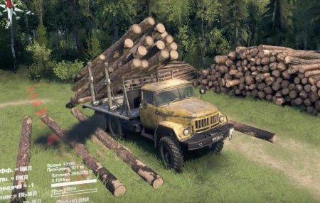 Скачать мод грузовик Зил-131 «Старый» для Spintires v. 03.03.16