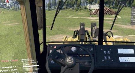 Скачать мод трактор Кировец К-702 ПК-6 для Spintires v. 03.03.16
