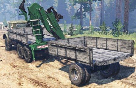 Скачать мод грузовик Зил-131 Манипулятор для Spintires v. 03.03.16