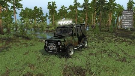 Скачать мод УАЗ Hunter Expedition Турбодизель для Spintires v. 03.03.16