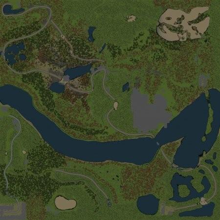 Скачать мод Карта Одна гора для Spintires v. 03.03.16