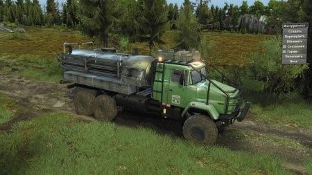 Скачать мод грузовик КрАЗ-63221 «Леший» 04.04.17 для Spintires v. 03.03.16