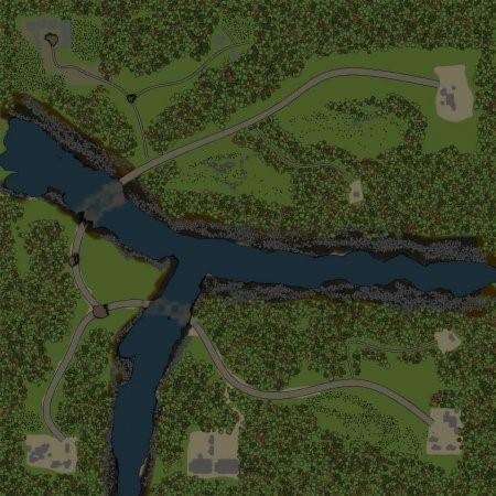 Скачать мод Карта Река для Spintires v. 03.03.16