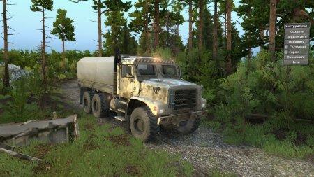 Скачать мод грузовик Oshkosh MTVR 6x6 для Spintires v. 03.03.16
