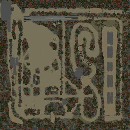 Скачать мод Карта Prerunner-Playground для Spintires v. 03.03.16