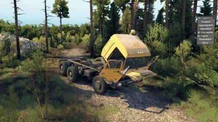 Скачать мод грузовик Камаз-54115 «Madarik» 06.04.17 для Spintires v. 03.03. ...