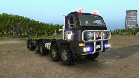 Скачать мод грузовик TATRA Terrno 12x12 08.04.17 для Spintires v. 03.03.16