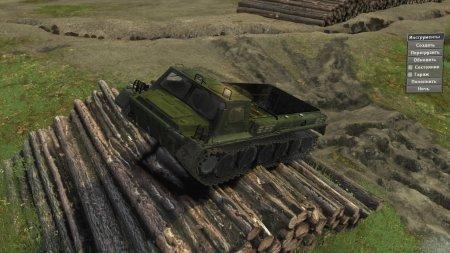 Скачать мод ГТ-СМ (ГАЗ-71) версия бета 0.5.5 для Spintires v. 03.03.16