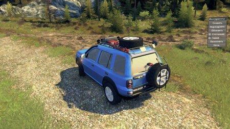 Скачать мод Land Rover Freelander V6 для Spintires v. 03.03.16