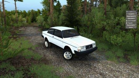 Скачать мод 1983 Volvo 242 Turbo Обновление 06.04.17 для Spintires v. 03.03.16