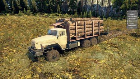 Скачать мод грузовик Урал-4320-1912-40 11.04.17 для Spintires v. 03.03.16