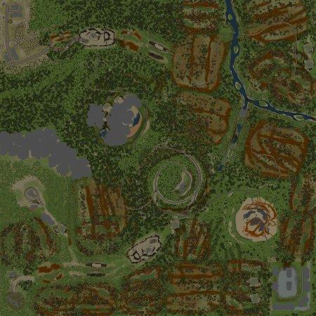 Скачать мод Карта Сестра-гора для Spintires v. 03.03.16