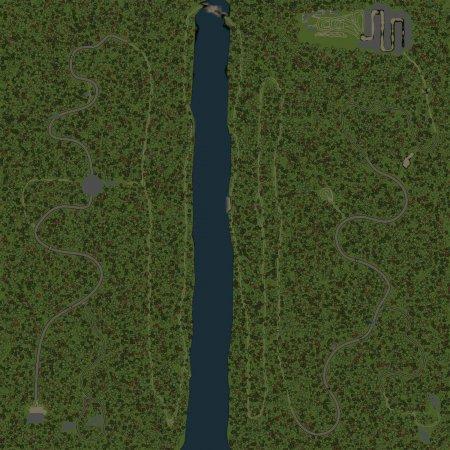 Скачать мод Карта Горы для Spintires v. 03.03.16