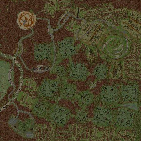 Скачать мод Карта Через болото для Spintires v. 03.03.16