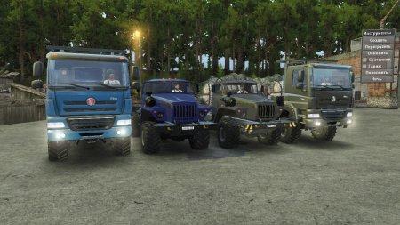 Скачать мод Грузовики Tatra Phoenix 8x8 + Урал-4320-41 Обновление 14.04.17  ...