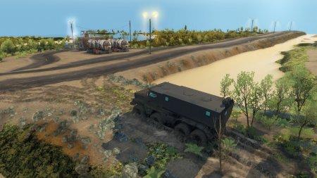 Скачать мод Карта Federal Road для Spintires v. 03.03.16