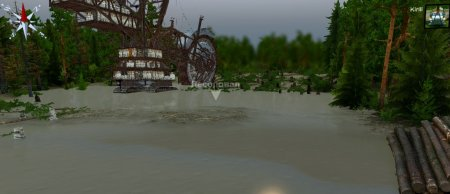 Скачать мод Карта Моторное 2 для Spintires v. 03.03.16