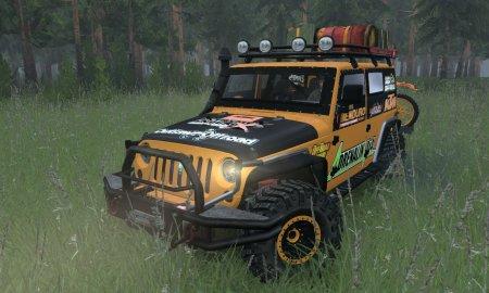 Скачать мод Jeep Wrangler для Spin tires v. 03.03.16