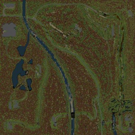 Скачать мод Карта Сосновый Бор для Spintires v. 03.03.16