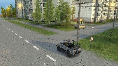Скачать мод Карта ГородГрад для Spintires v. 03.03.16