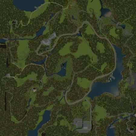 Скачать мод Карта Альпы 2 для Spintires v. 03.03.16