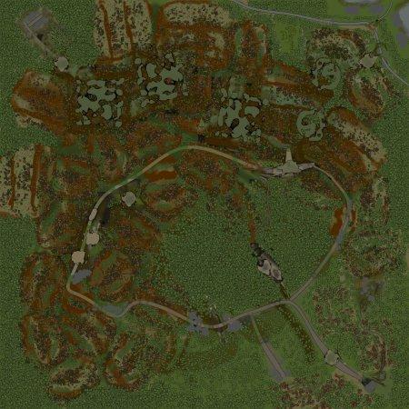Скачать мод Карта Село 2 для Spintires v. 03.03.16