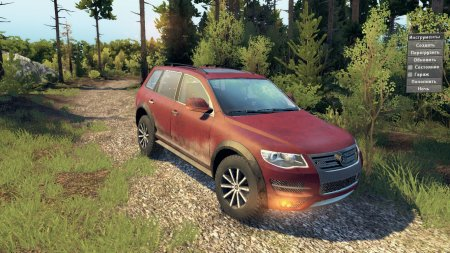 Скачать мод Volkswagen Touareg чтобы Spin Tires v. 03.03.16