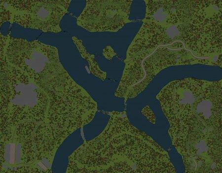 Скачать мод Карта Лес 2 для Spintires v. 03.03.16