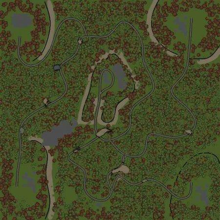 Скачать мод Карта Прогулка по мнению лесу к Spin Tires v. 03.03.16