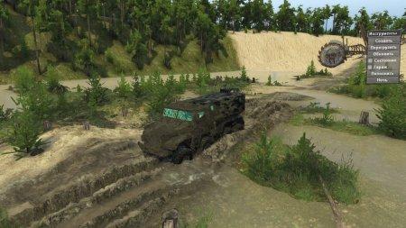 Скачать мод Карта Sand pit для Spintires v. 03.03.16