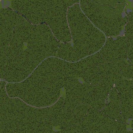 Скачать мод Карта Трегирское лесничество для Spintires v. 03.03.16