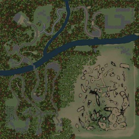 Скачать мод Карта One для Spintires v. 03.03.16