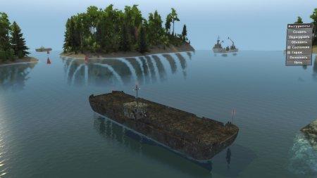 Скачать мод Карта Водный мир для Spintires v. 03.03.16
