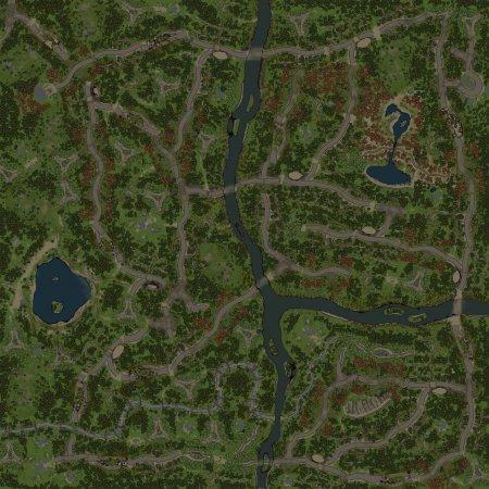 Скачать мод Карта Лесные Дороги для Spintires v. 03.03.16