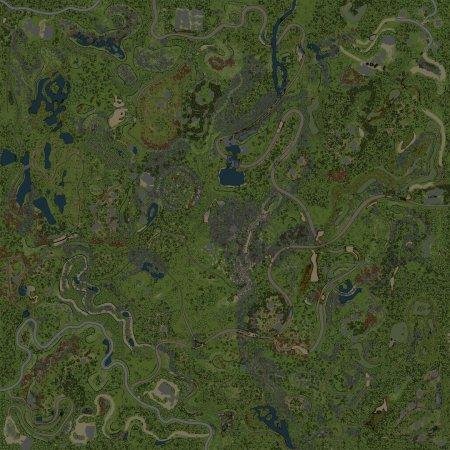 Скачать мод Карта After a hard path 6 end для Spintires v. 03.03.16