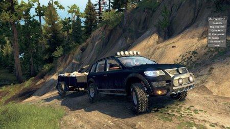 Скачать мод Volkswagen Touareg версия 2 для Spintires v. 03.03.16