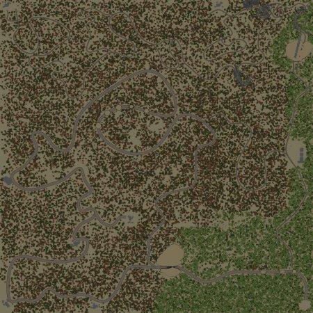 Скачать мод Карта Кривые дороги для Spintires v. 03.03.16
