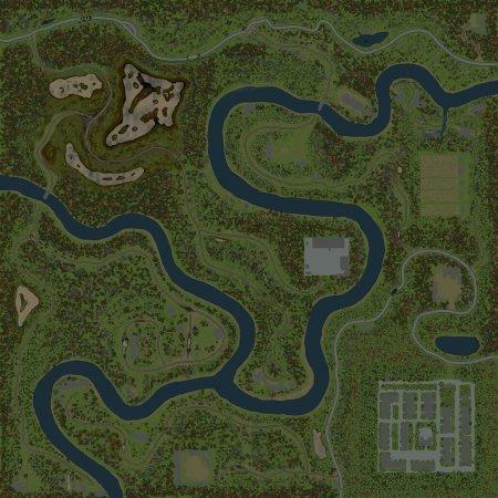Скачать мод Карта Две Делянки для Spintires v. 03.03.16