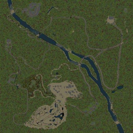 Скачать мод Карта Любимая Деревня для Spintires v. 03.03.16