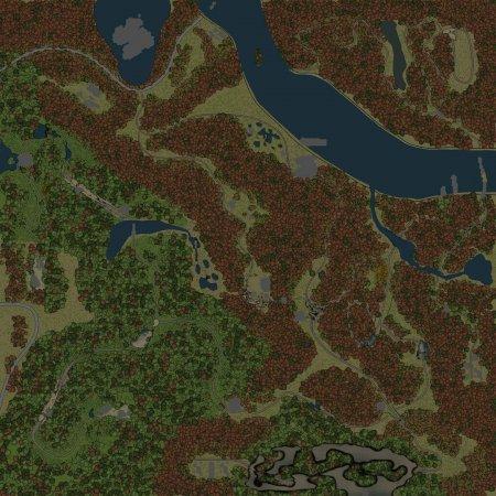Скачать мод Карта SVE 12: Паромная переправа для Spintires v. 03.03.16