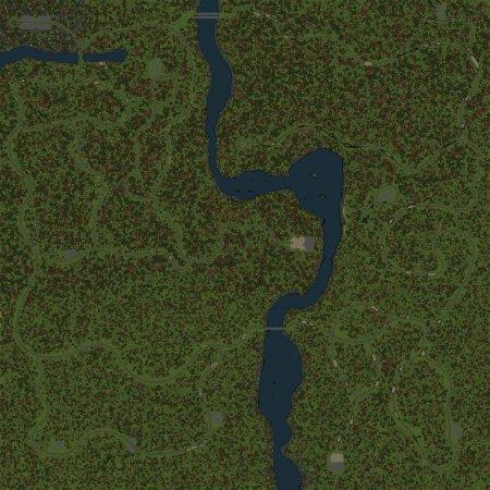 Скачать мод Карта Аннинский Лес для Spintires v. 03.03.16