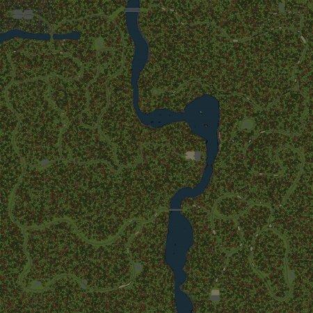 Скачать мод Карта Аннинский Лес 2 для Spintires v. 03.03.16