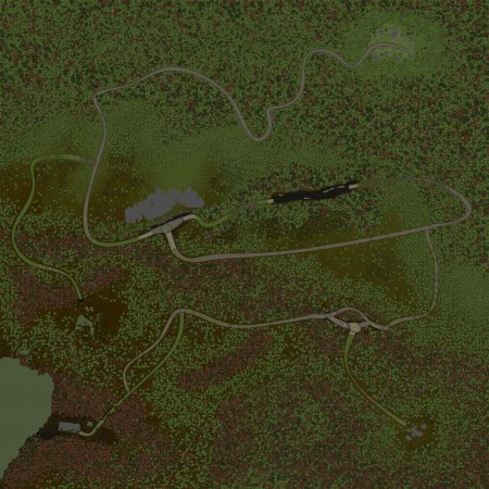 Скачать мод Карта Коррозия для Spin Tires v. 03.03.16