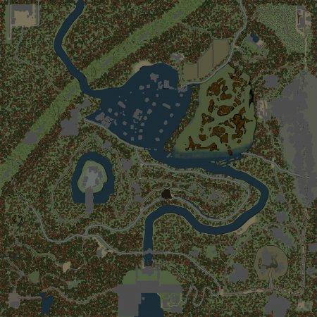 Скачать мод Карта Затопленная деревня для Spintires v. 03.03.16