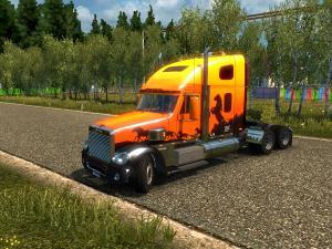 Скачать мод грузовик Freightliner Coronado v.2 для Euro Truck Simulator 2 v ...