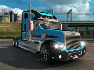 Скачать мод грузовик Freightliner Coronado v.08.04.17 для Euro Truck Simula ...