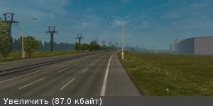 Скачать мод карта Беларуси, России и Украины v.3.4 для Euro Truck Simulator 2 v. 1.21.1
